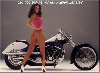 Chicas gordas en motocicletas